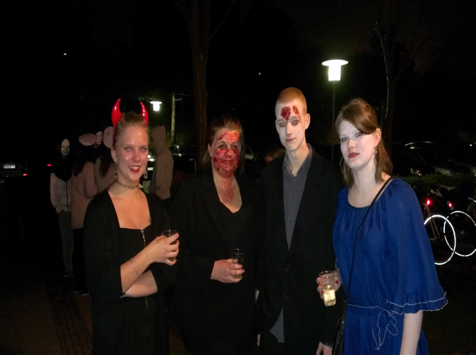 Halloweenfest En fast tradition i