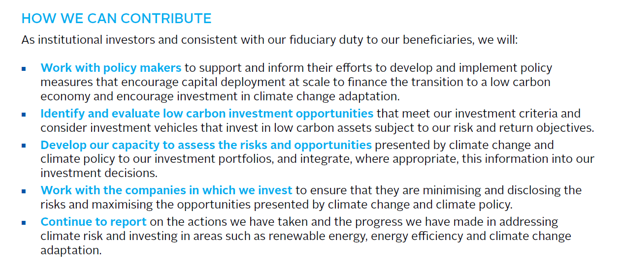 362 investorer, 24 billiarder USD Global Investor Statement on Climate