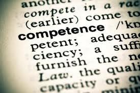 If you think competence