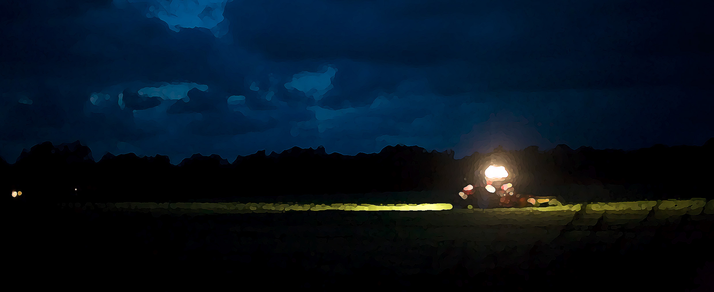 Sprayer LED 2015 Dan Phiffer - CC-BY - The day is over