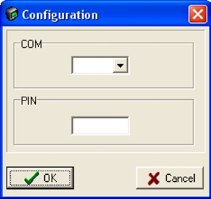 Answer Ja/Yes The following menu will now appear Select the COM port where the GSM modem is connected, if there is a PIN code write the pin code and select OK. Organisation of units in SPSMAP.