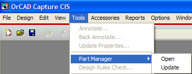 Appendix - Part manager Informationer omkring parts i designet.