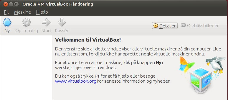 Virtualbox og Windows Xp er ved