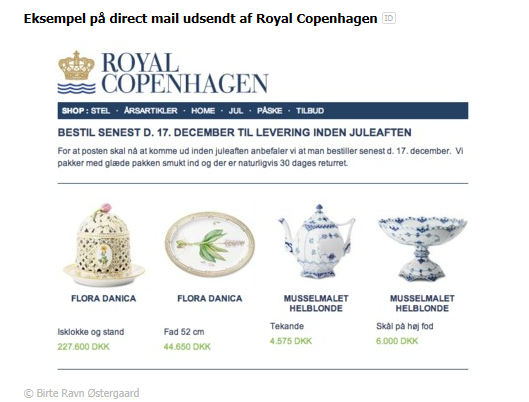 Direct marketing Restriktioner forskellig fra marked til marked