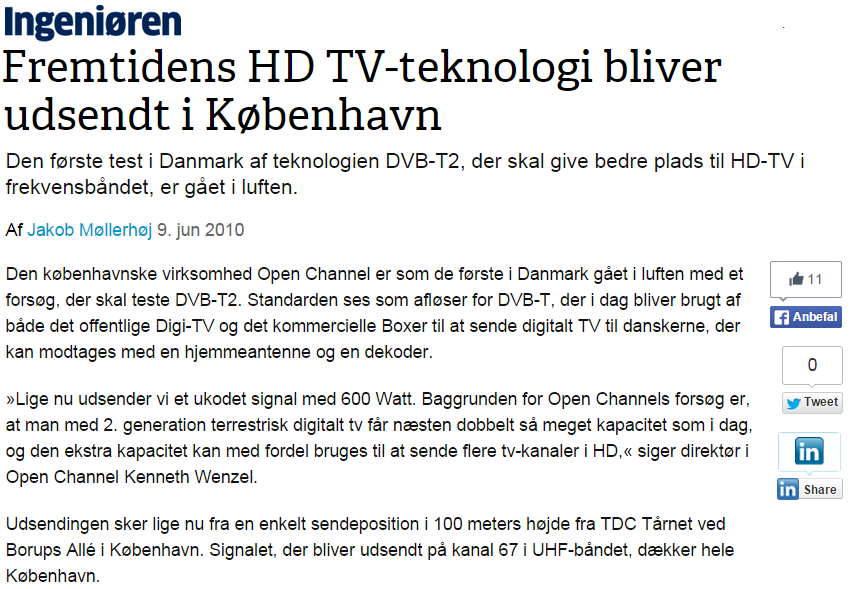 Page5 2010 On Air med DVB-T2 http://ing.