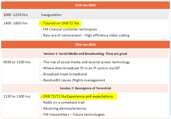 Event BES Expo 2015 Broadcast Engineering Society (India) is organizing its 21st International Conference