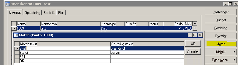 2.1.10 Database størrelse C5 beregner nu databasen ens for native og SQL.