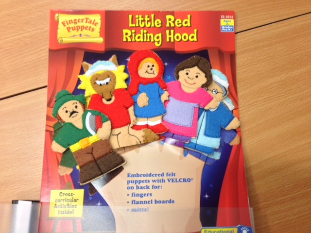 LITTLE RED RIDINGHOOD - OG ANDRE EVENTYR MED FINGERDUKKER Informationsamlingen Se animerede film på youtube Mange