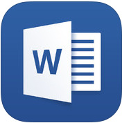 Newsfeed app OneDrive app Outlook app Word, Excel og