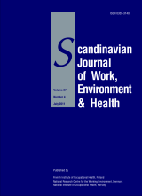 Downloaded from www.sjweh.fi on April 17, 2012 Review Scand J Work Environ Health 2012;38(2):93-104 doi:10.5271/sjweh.