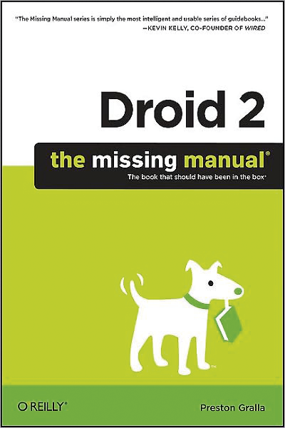 Bøger med rabat Bøger med rabat til PROSA-medlemmer Droid X: The Missing Manual Preston Gralla isbn 9781449393861 Get the most from your Droid X right away with this entertaining Missing Manual.