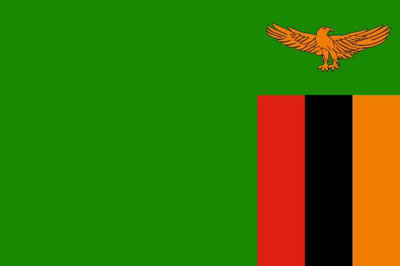 Fakta om Zambia Flag Generelt Officielt navn Republikken Zambia/ Republic of Zambia Hovedstad Lusaka Styreform Præsidentiel republik Nationaldag 24.