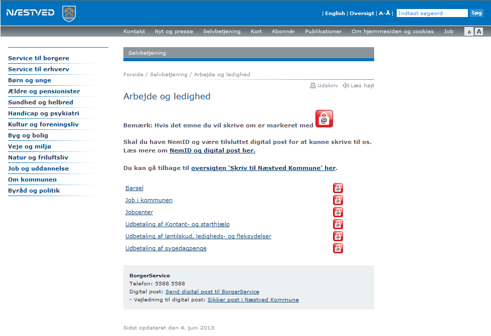 Figur 30. 8.3. e-mail meddelelse fra Digital Post i Outlook Figur 31.