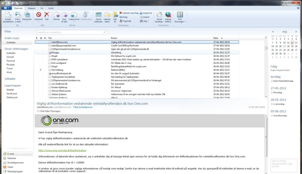 WINDOWS LIVE MAIL - PDF