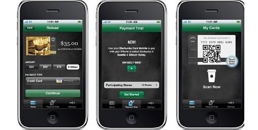 Loyalty and m-commerce Starbucks, Q1 2011: 3