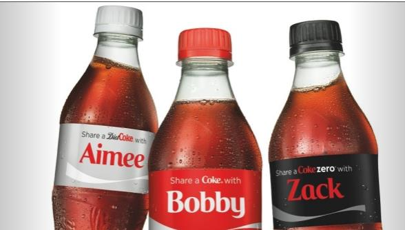 Personalization by gimmick Share a Coke is about taking our