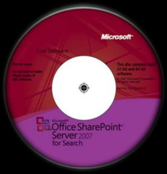 SharePoint Server 2007 For Search (MOSSFS) 180-day Evaluation Kit 1.