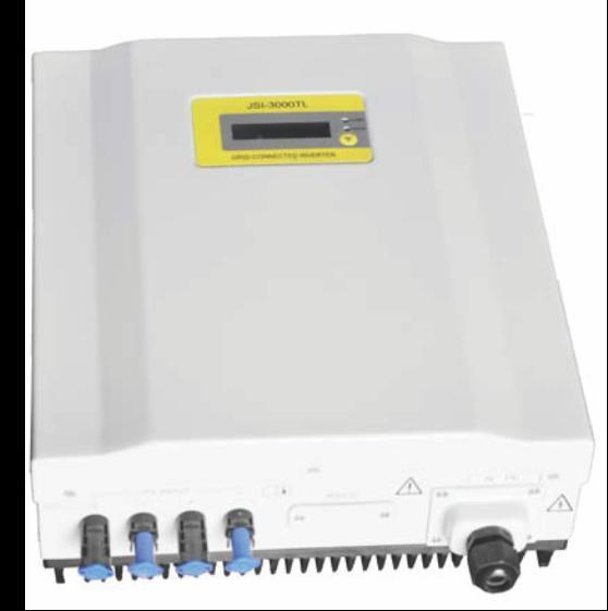 Outdoor solar on-grid inverter JSI BENEFITS Compact size and high power density High speed MPPT for real time power tracking and improved energy harvesting Transformer less operation for highest