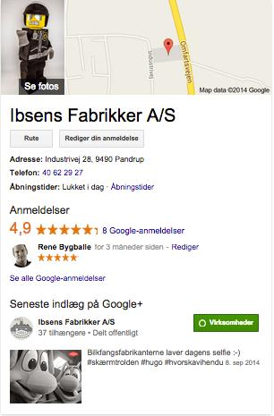 Hvorfor Google My Business?