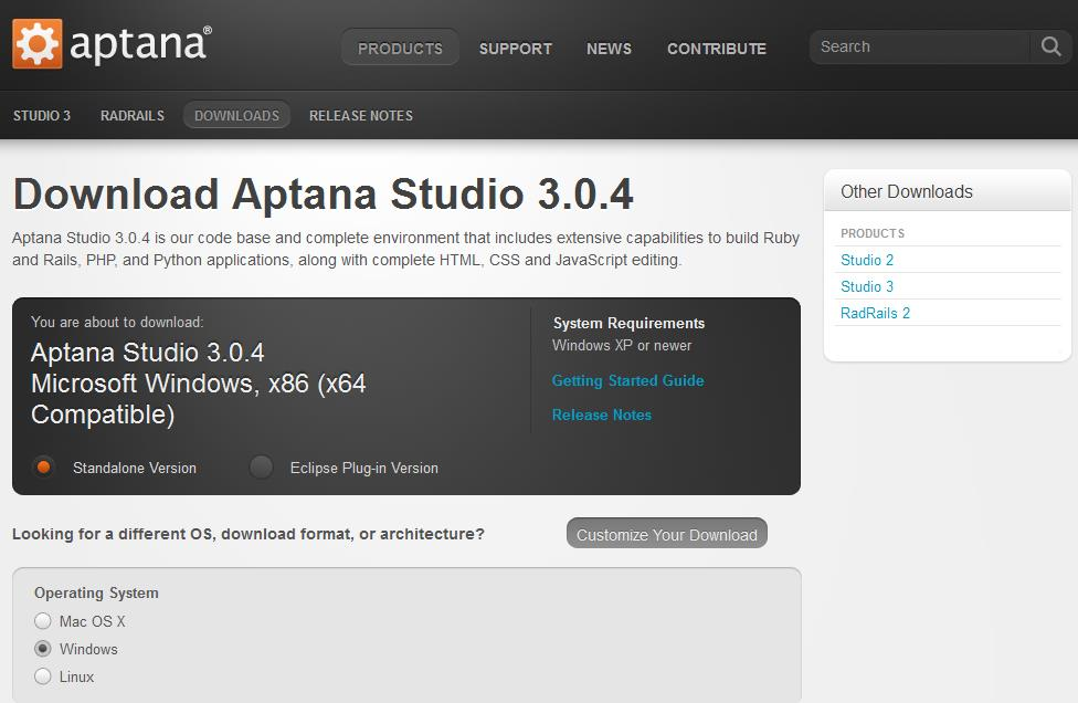 1 Aptana editor til MAC og Windows http://aptana.