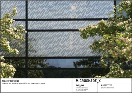 "Project management and funding MicroShade X demonstration of energy saving solar shading technology, DKK 10! ""#$%&' ( ) %*%+,, -,,, -,,, %! ""#$%&&' $#&() *&+$%, $- #.$/ 01&$23*$4*35&(.#$""' +$4""*."