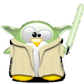 StarWars-maskinen! MAY THE FORCE BE WITH YOU! http://tux.