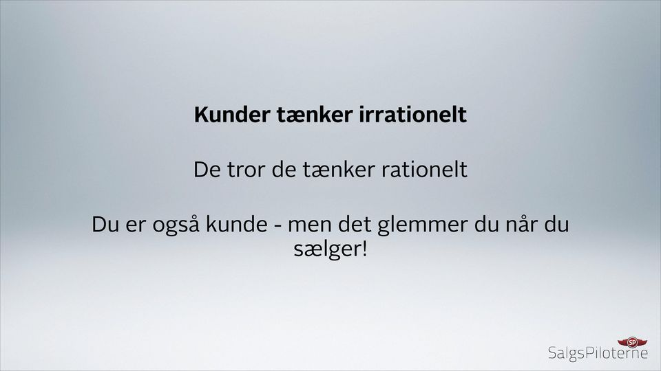 rationelt Du er også kunde
