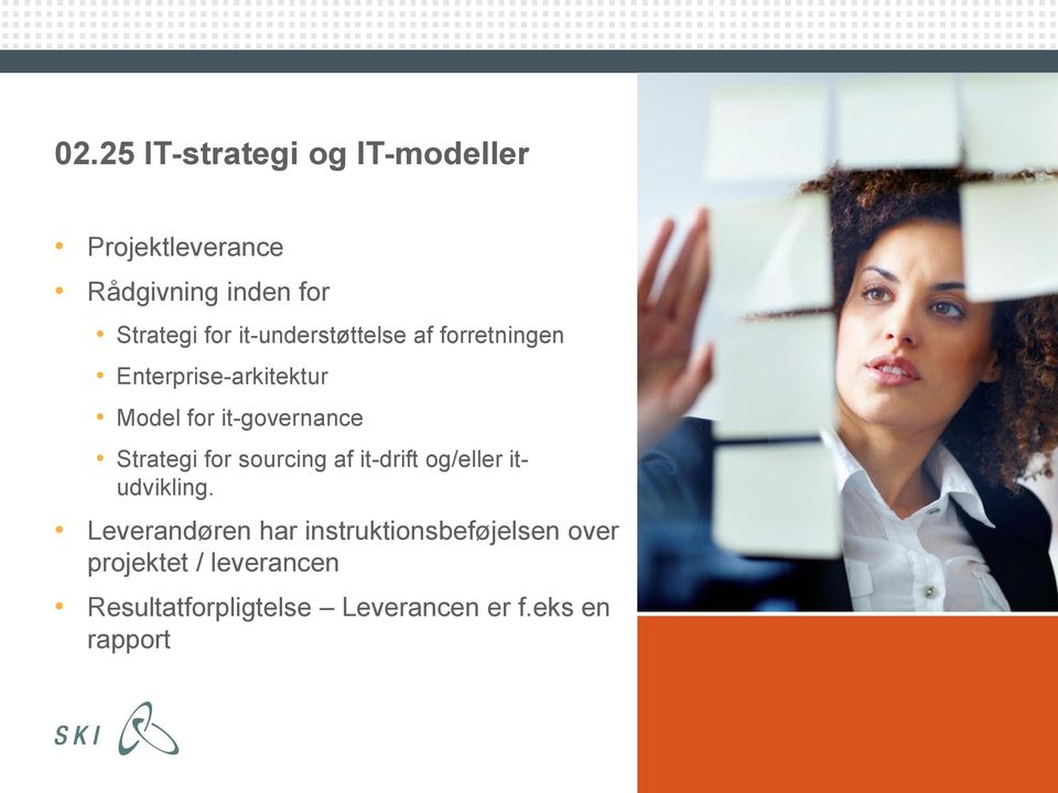 Strategi for sourcing af it-drift og/eller itudvikling.