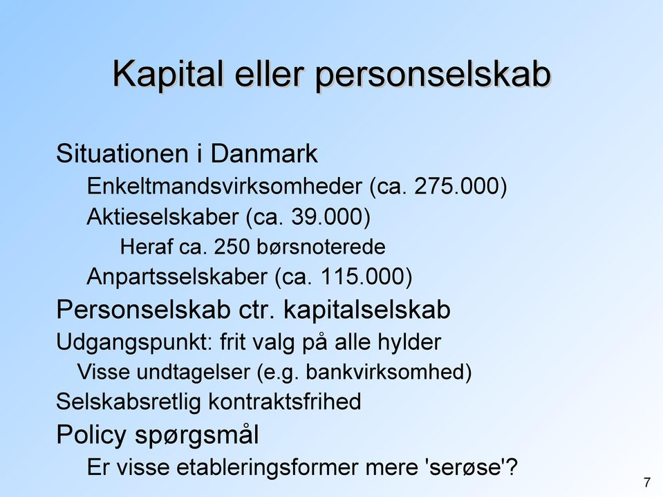 000) Personselskab ctr.