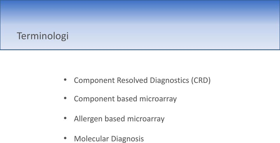 based microarray Allergen