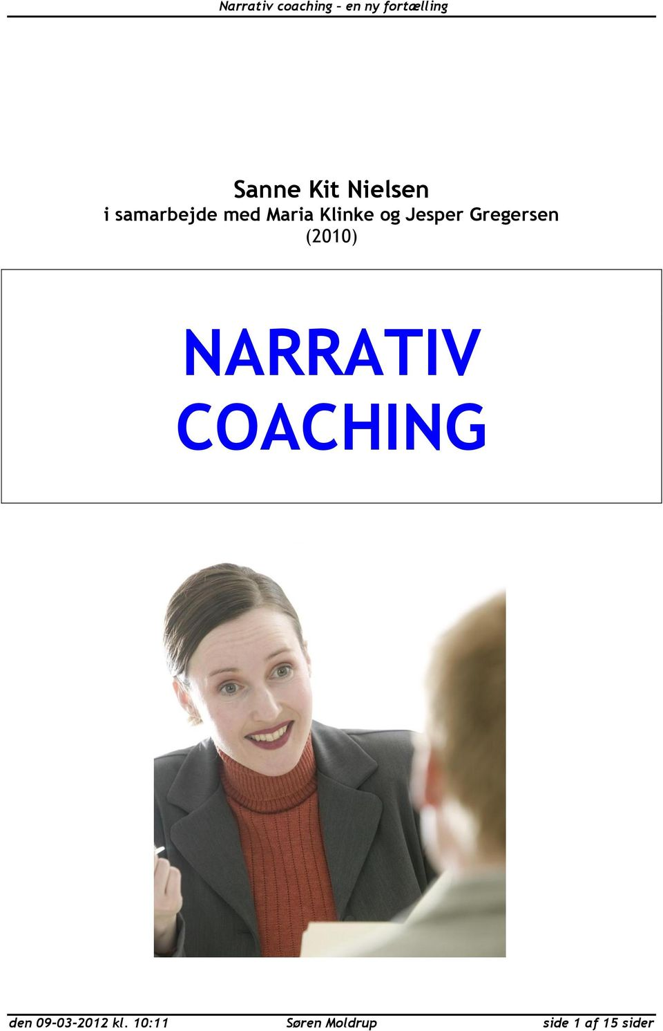 (2010) NARRATIV COACHING den