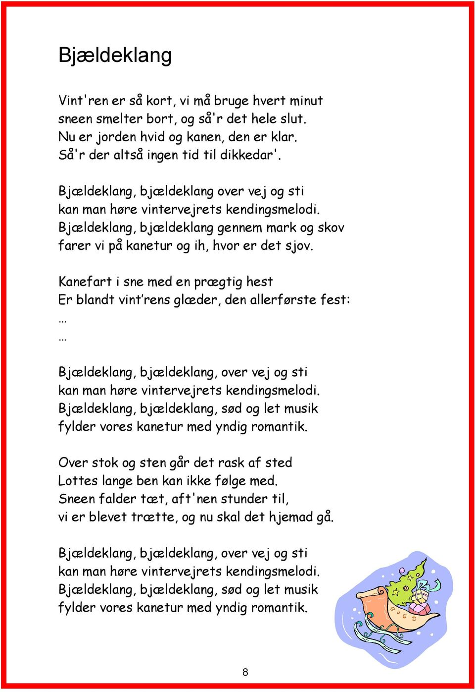 det sørme det sandt december lyrics