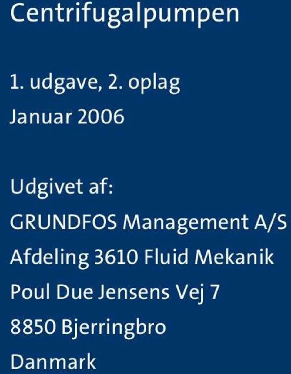 Manageent A/S Afdeling 360 Fluid
