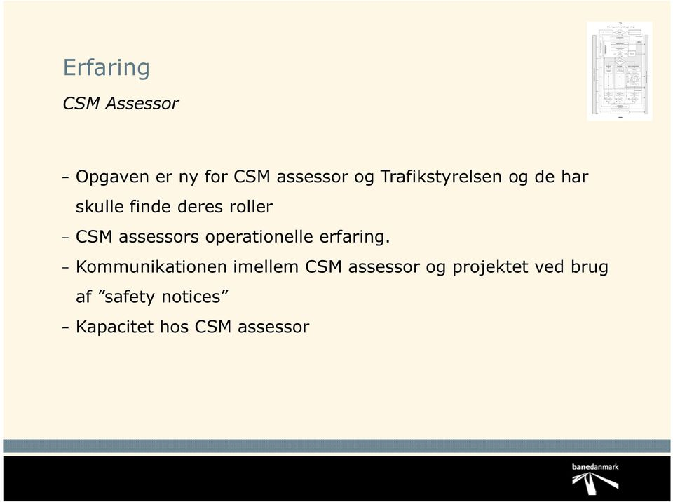 assessors operationelle erfaring.
