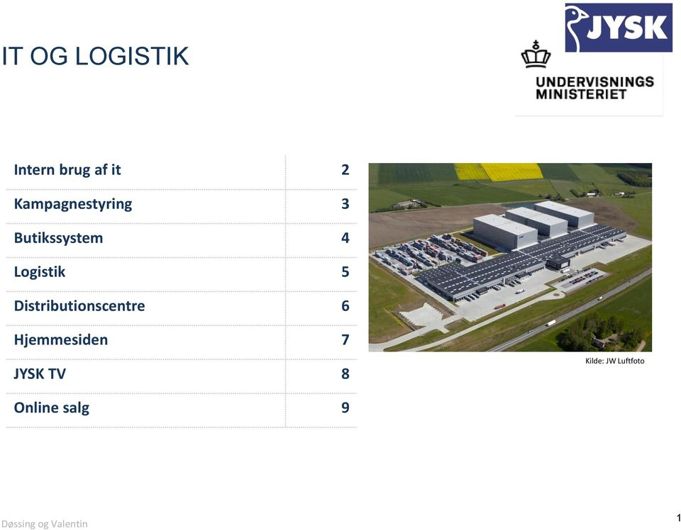 Logistik 5 Distributionscentre 6