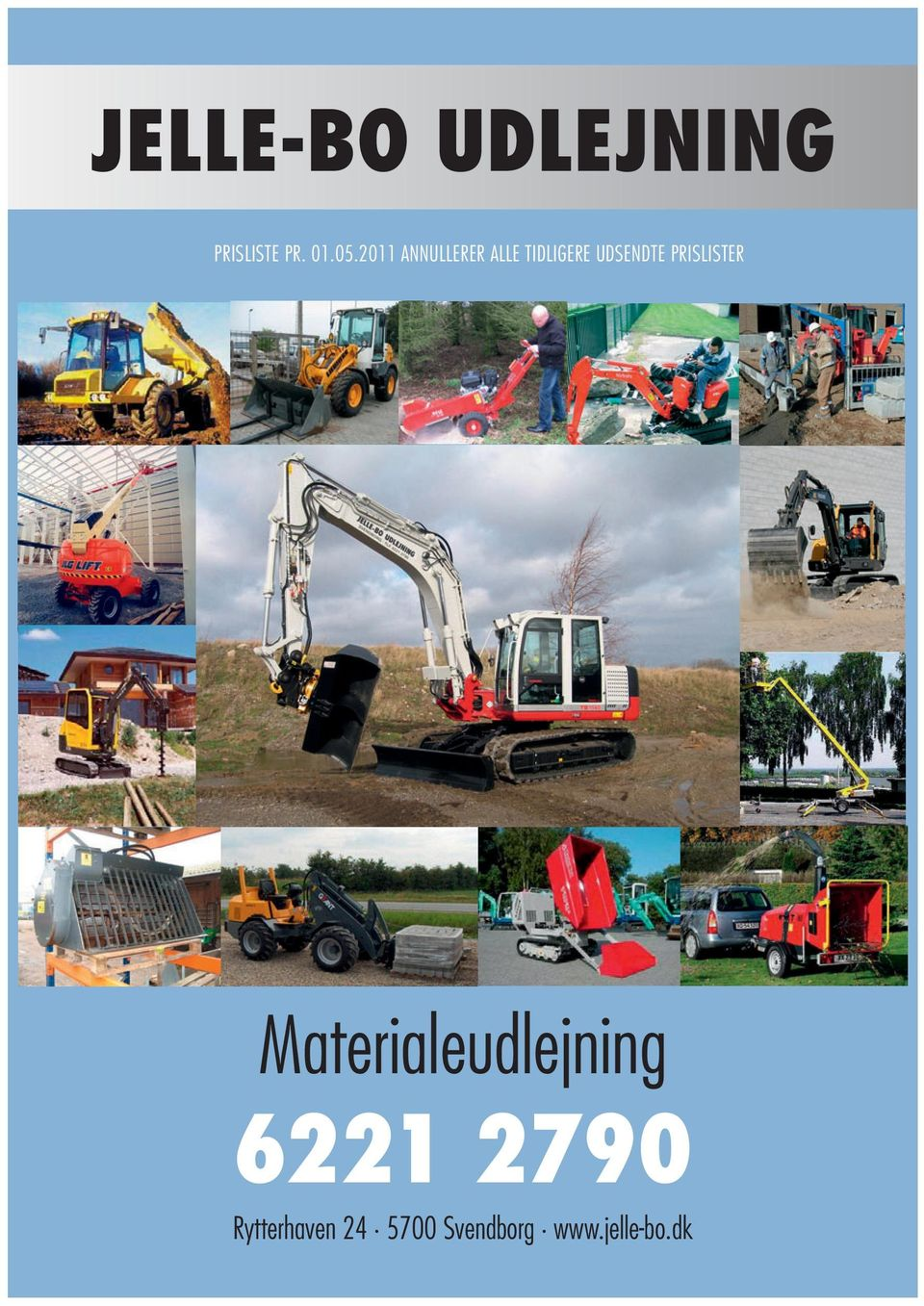 PRISLISTER Materialeudlejning 6221 2790