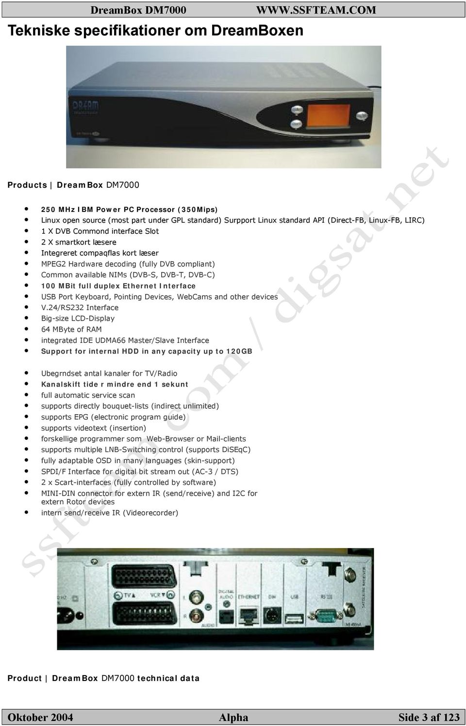 full duplex Ethernet Interface USB Port Keyboard, Pointing Devices, WebCams and other devices V.