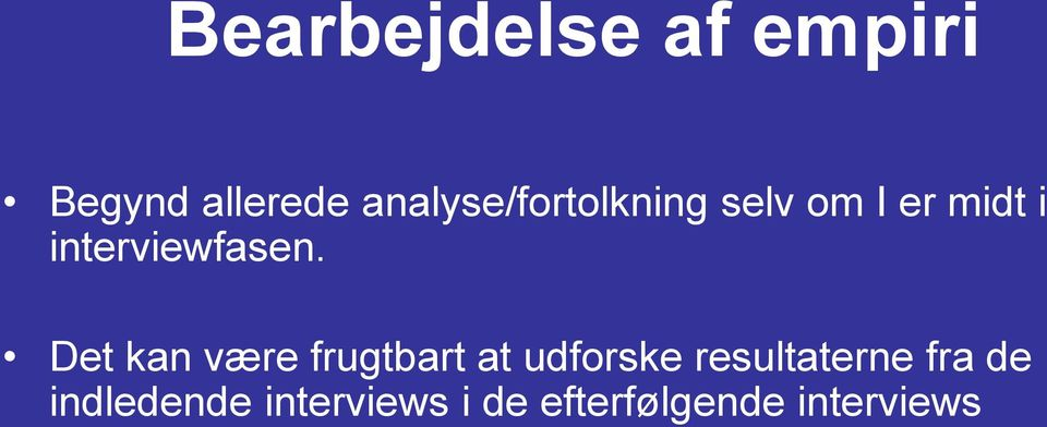interviewfasen.