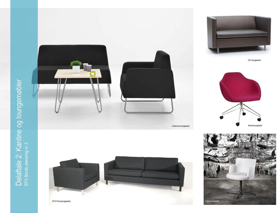 Coleman loungeserie Arena