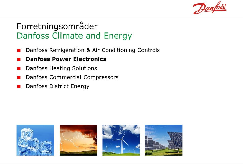 Danfoss Power Electronics Danfoss Heating