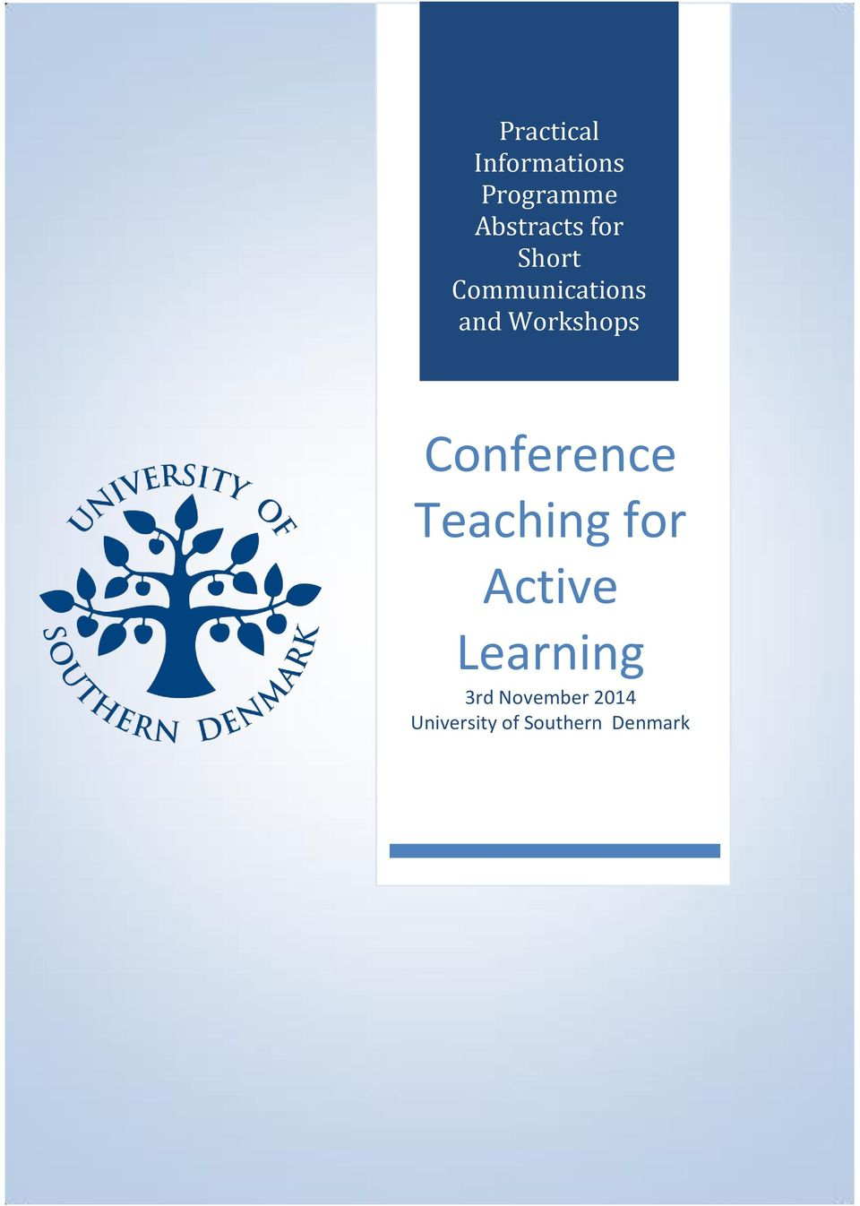 Conference Teaching for Active Learning