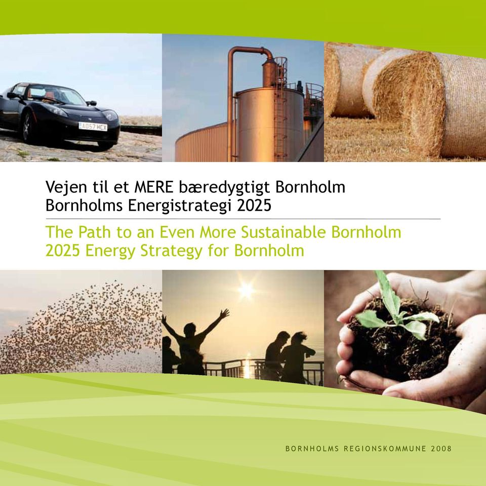 Sustainable Bornholm 2025 Energy Strategy for