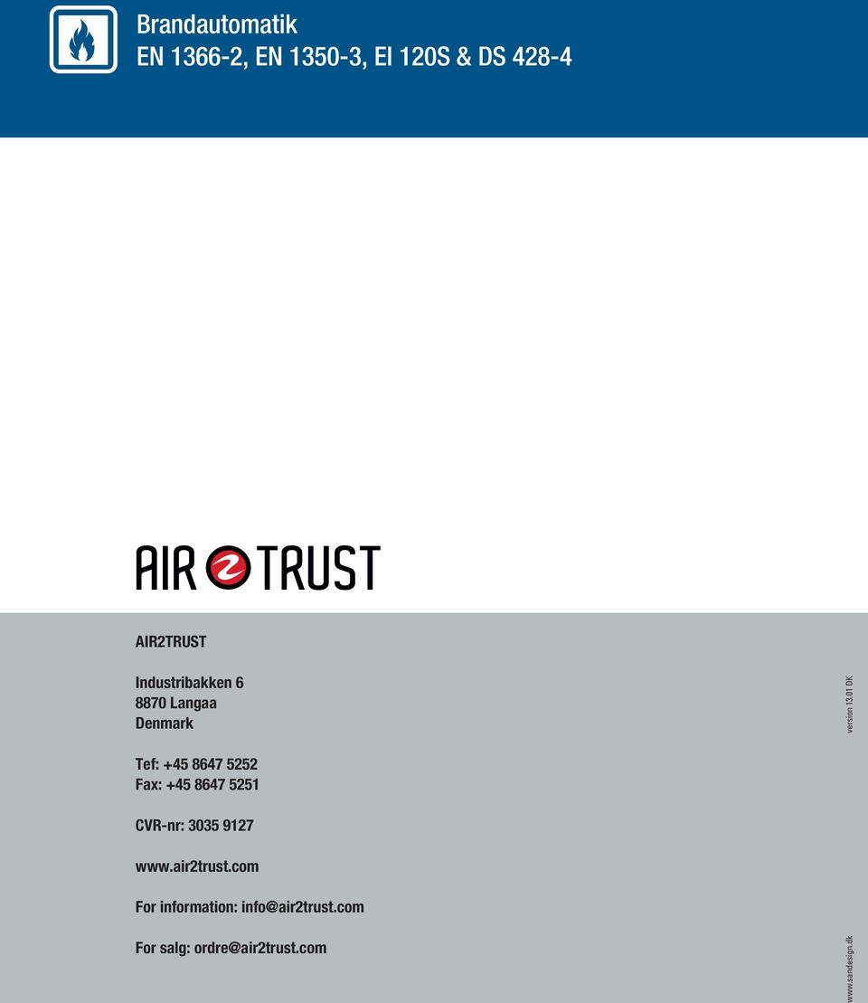 air2trust.com For information: info@air2trust.
