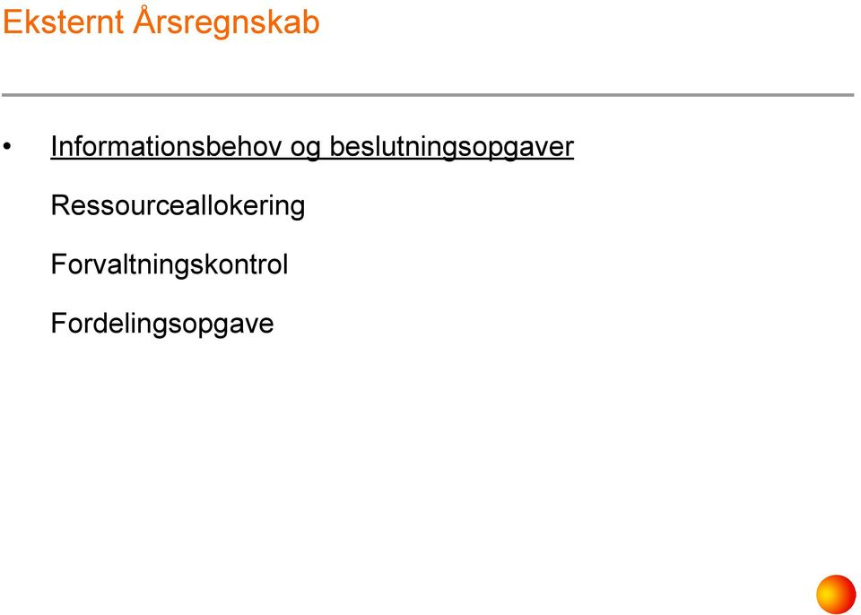 Ressourceallokering