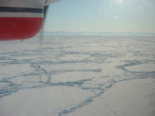 Topography F: Sea-ice freeboard T: Ice thickness.. T = 6*F (approx.