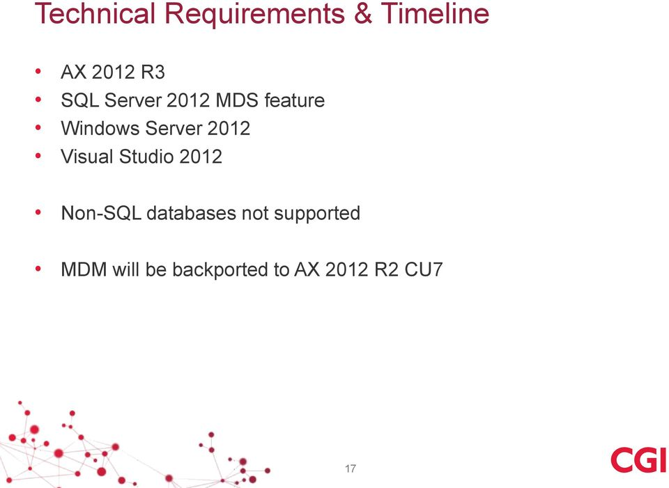 2012 Visual Studio 2012 Non-SQL databases not