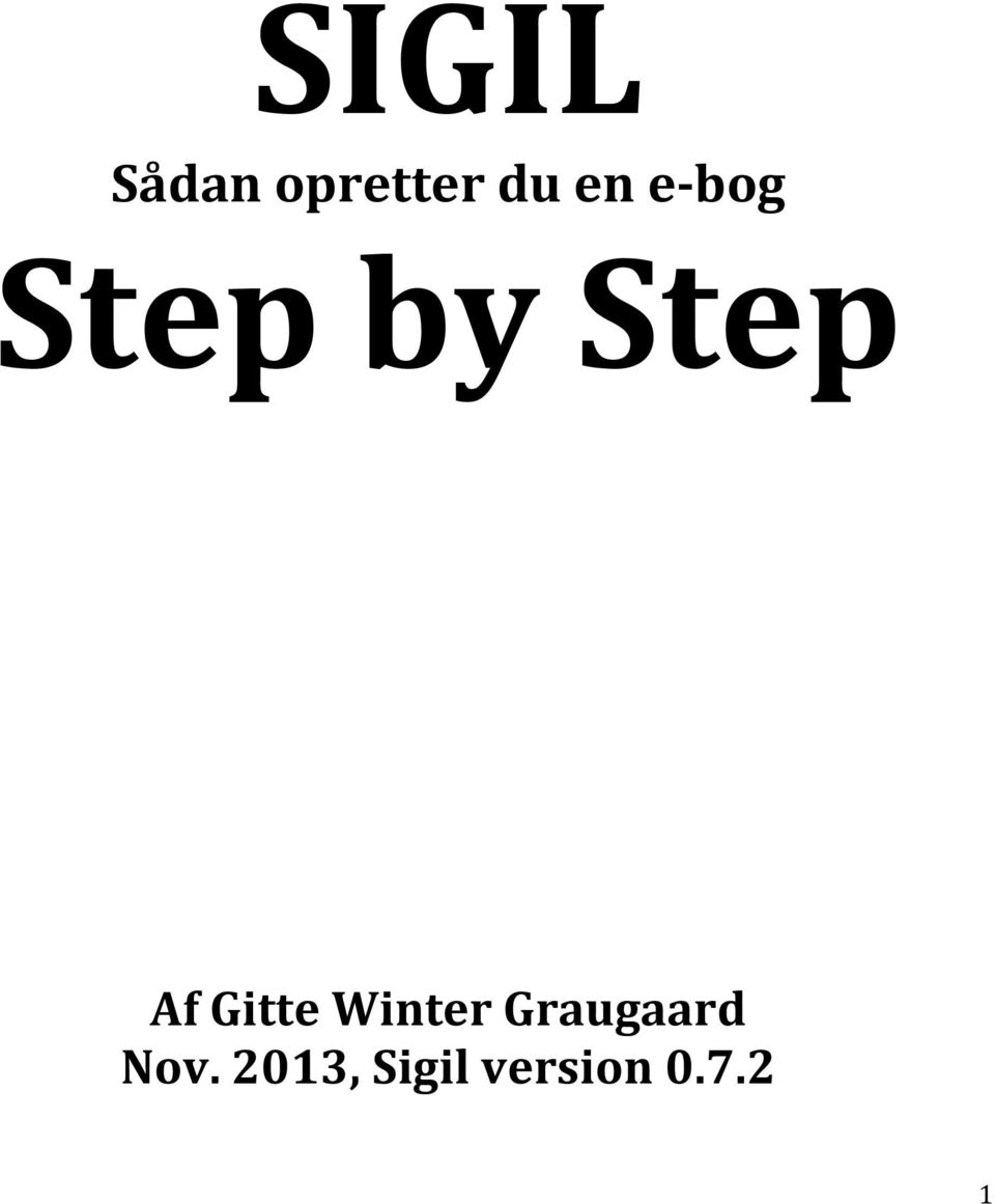 Gitte Winter Graugaard Nov.