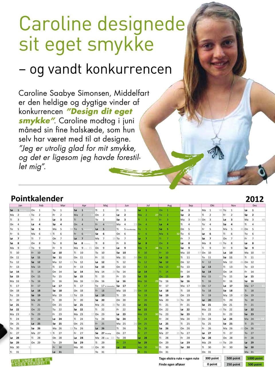 Pointkalender Jan Feb Mar Apr Maj Jun Jul Aug Sep Okt Nov Dec Sø 1 Nytårsdag On 1 To 1 Sø 1 Palmesøndag Ti 1 Fr 1 Sø 1 On 1 Lø 1 Ma 1 40 To 1 Lø 1 Ma 2 1 To 2 Fr 2 Ma 2 14 On 2 Lø 2 Ma 2 27 To 2 Sø 2