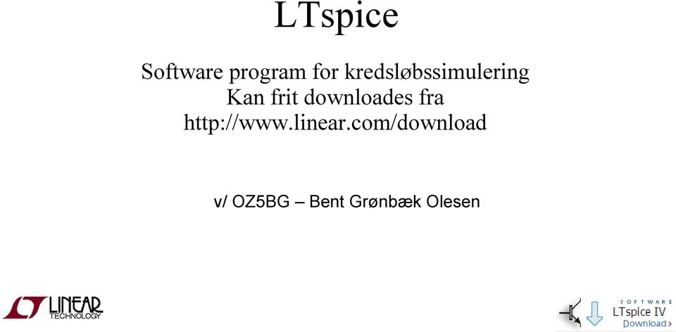 downloades fra http://www.linear.
