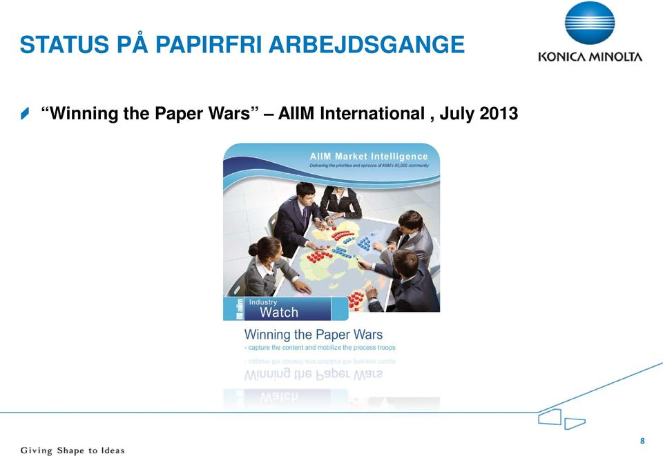 the Paper Wars AIIM